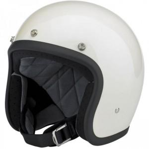 Bonanza Helmet – Gloss Vintage White
