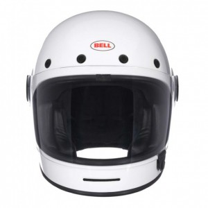 Bell – Solid White Bullitt Full Face Helmet