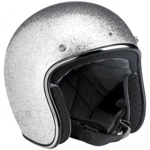 Bonanza Helmet – Brite Silver MF