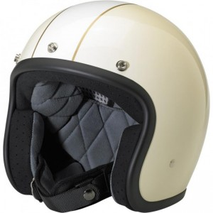 Bonanza Helmet – LE Racer Vintage/Gloss White
