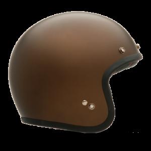 Bell Custom 500 – Matte Brown Metallic