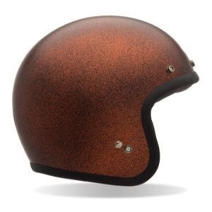 Bell Custom 500 – Matte Orange Flake