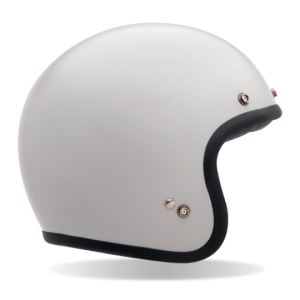 Bell Custom 500 – Solid Vintage White