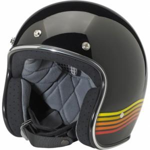 Bonanza LE Spectrum Helmet – Black/Orange