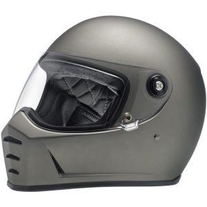 Lane Splitter Helmet – Flat Titanium