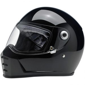 Lane Splitter Helmet – Gloss Black