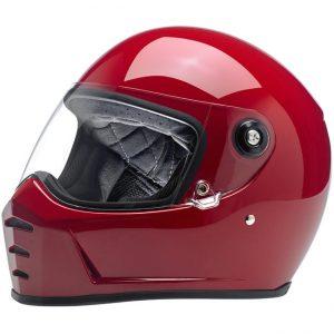 Lane Splitter Helmet – Gloss Blood Red