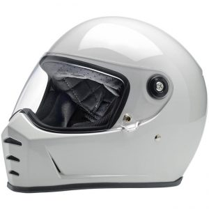 Lane Splitter Helmet – Gloss White