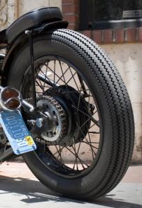 Vintage Firestone Deluxe Champion Tire